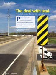 The deal with seal - Roads & Bridges