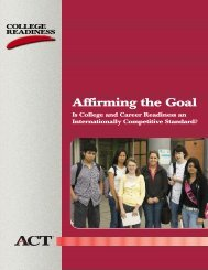Affirming the Goal - Confex