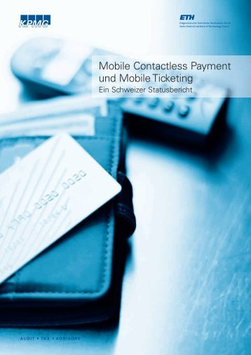 Mobile Contactless Payment und Mobile Ticketing - Essential for ...