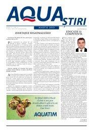 AQUA Ştiri nr. 3 / martie 2010 - Aquatim