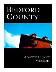 FY 2013-2014 - Bedford County, Virginia