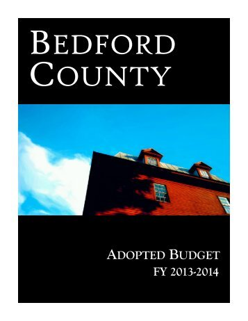 FY 2013-2014 - Bedford County, Virginia