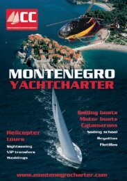 Table Of Contents - Lazy Winch yacht charter sailing holidays.