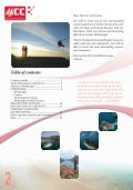 Table Of Contents - Lazy Winch yacht charter sailing holidays. - Page 2