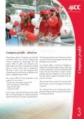 Table Of Contents - Lazy Winch yacht charter sailing holidays. - Page 3