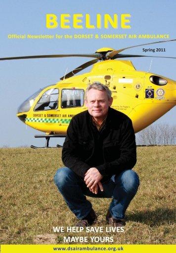 Spring 2011 Newsletter - Dorset and Somerset Air Ambulance
