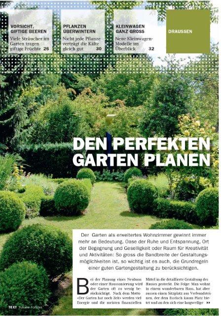Den perfekten Garten planen