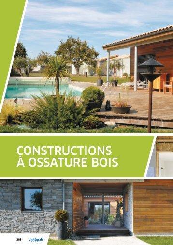Constructions à ossature bois et plaques Placo®