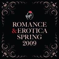 romance &erotica spring 2009