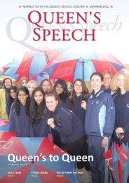 Summer 2012 - The Queen's School