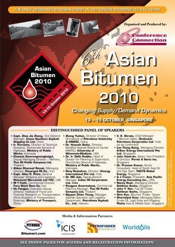 Asian Bitumen - Conference Connection
