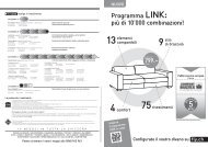 Programma LINK: più di 10'000 combinazioni!