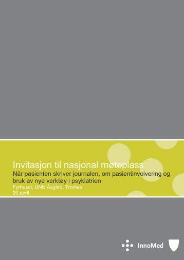 Invitasjon til nasjonal møteplass - Innomed