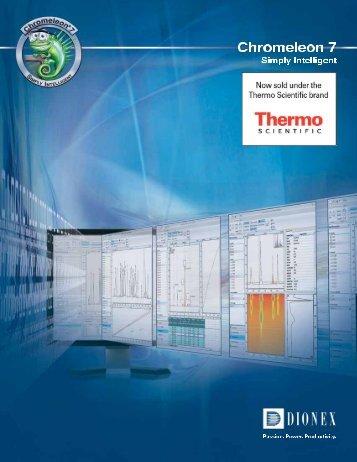 Chromeleon software manual