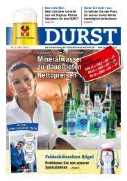 Mineralwasser zu dauertiefen Nettopreisen Seite 7 - Durstzeitung