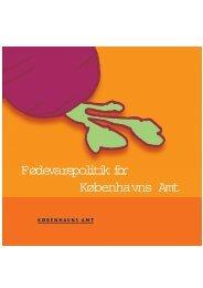 Fødevarepolitik for Københavns Amt