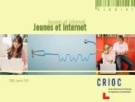 Jeunes et internet - Crioc