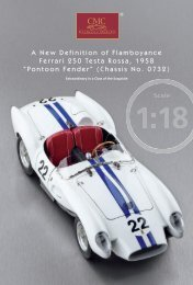 A New Definition of Flamboyance Ferrari 250 Testa Rossa ... - CMC