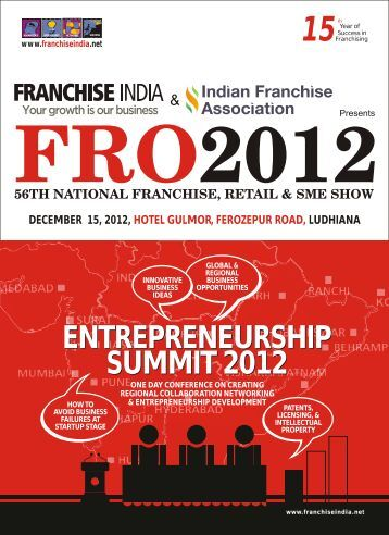 Conference Brochure - Ludhiana - Franchise India