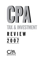 CPA Tax & Investment Review 2007 - The Malaysian Institute Of ...