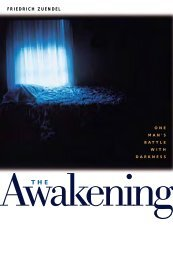 The Awakening: One Man's Battle With Darkness - Plough