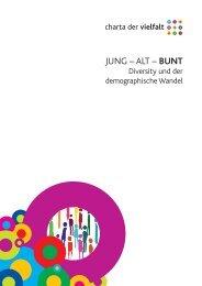 JUNG – ALT – BUNT - Charta der Vielfalt