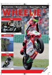 Testberichte • Reiseberichte • Reportagen • News www.wheelies.de