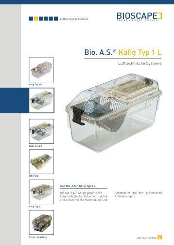 Bio. A.S. ® Käfig Typ 1 L (pdf)