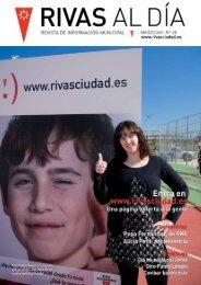 Rivas Al Día Nº 98 Marzo 2011 - Ayuntamiento Rivas Vaciamadrid