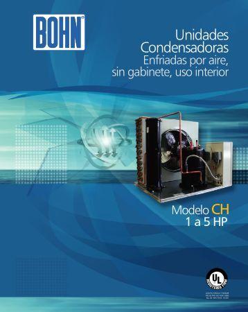 Unidades Condensadoras - Bohn