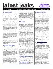 November 2007 - Missouri Petroleum Storage Tank Insurance Fund ...