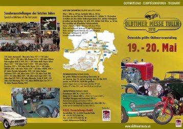 Sonderausstellungen Der Letzten Jahre Wien - Oldtimer Messe Tulln