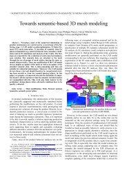 Towards semantic-based 3D mesh modeling - LSIS