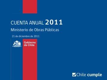 Cuenta Pública MOP 2011
