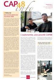 Info CAP48 n°20 juillet 2012 - Rtbf