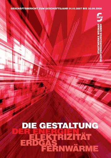 Die Energie der Gestaltung - Stadtwerke Weimar