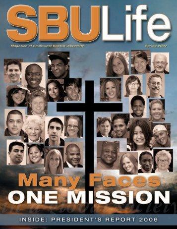SBU Life - Spring 2007 - Southwest Baptist University
