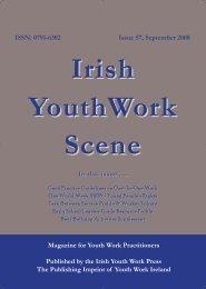 Issue 57: September 2008 - Youth Work Ireland