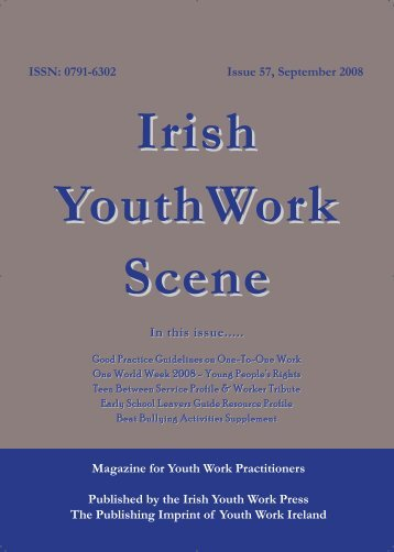 Issue 57: September 2008 - Youth Work Ireland