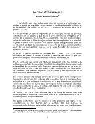 Politica y juventud Garreton, MA INJUVE-CELAJU2005.pdf - Inicio