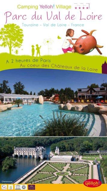brochure telechargeable - CAMPING DU PARC DU VAL DE LOIRE