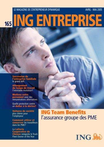 ing entreprise 165 - ING Belgium