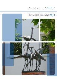 Geschäftsbericht 2011 - Wohnungsbaugenossenschaft Süderelbe eG