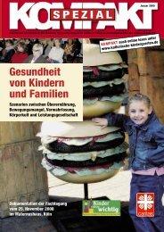 Gesundheit von Kindern und Familien - Katholische ...