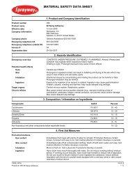 Spray Adhesive - Cansew, Inc