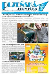 červen 2011, 12 stran (PDF, 5 MB) - Portál městského obvodu Plzeň 1