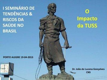 O Impacto da TUSS - Sindihospa
