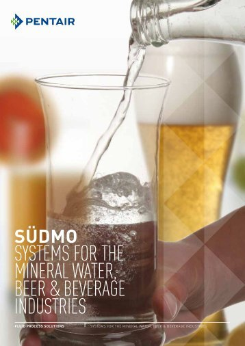 SySTEMS FOR THE MINERAL WATER, BEER ... - Südmo