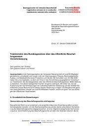 Vernehmlassung BoeB final - Schweizer Bauwirtschaft
