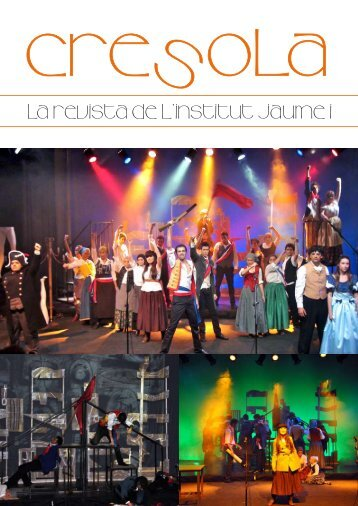 La revista de l'institut Jaume I - IES Jaume I de Borriana
